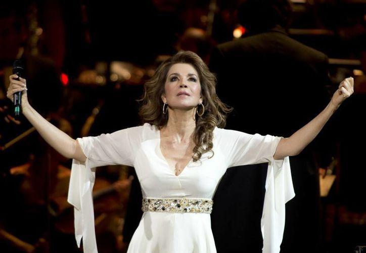 Lo del Auditorio Nacional será lo que hice en Bellas Artes, pero llevaré mariachi: Pineda. (Notimex/Foto de archivo)