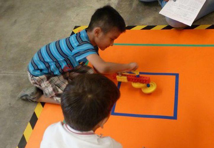 El curso es para niños mayores de tres años. (Israel Leal/SIPSE)