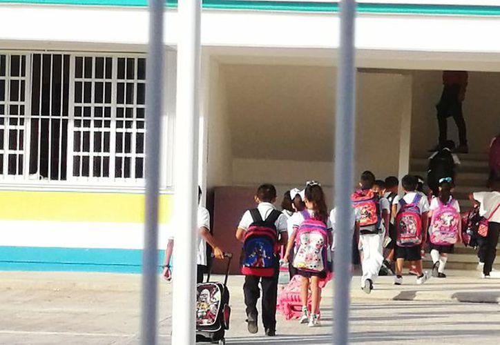 Registra la matrícula escolar un crecimiento del 5% de manera anual. (Octavio Martínez/SIPSE)
