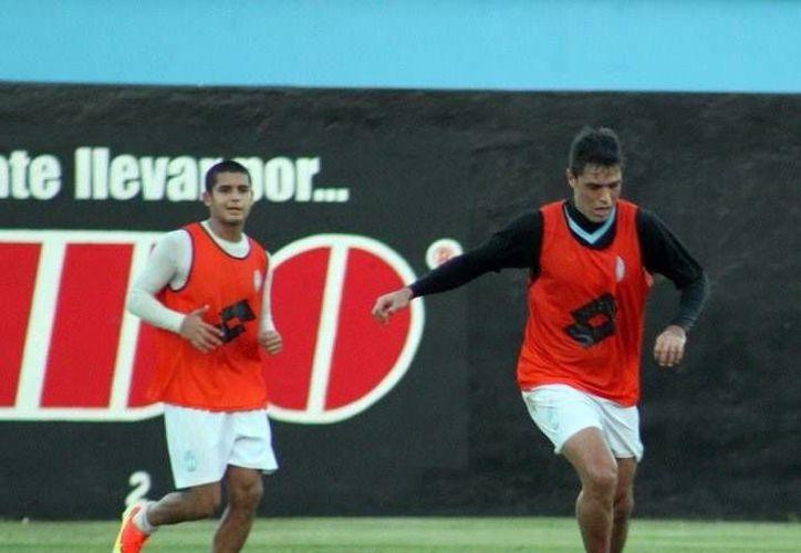 Los jugadores del Mérida cerraron su preparación para el juego de hoy. (Milenio Novedades)