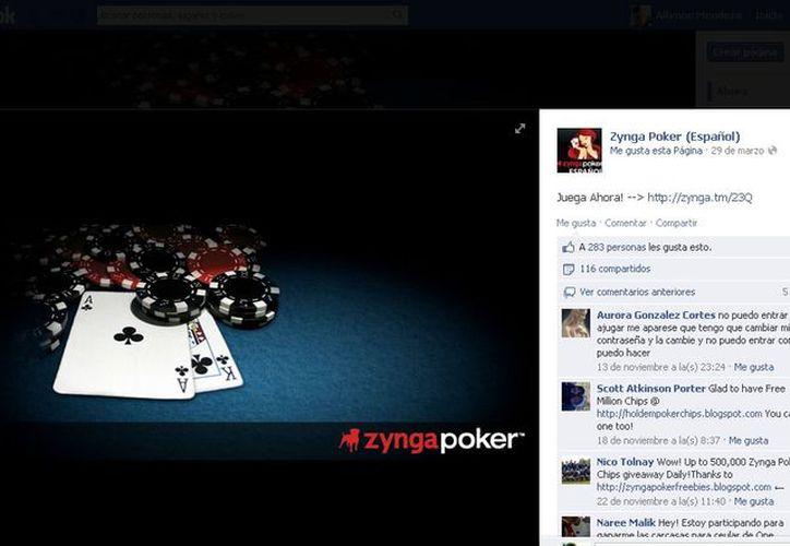 Los juegos son populares en Facebook. (facebook)