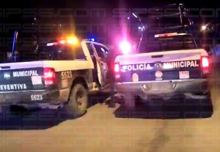Los detenidos fueron trasladados al centro de retención. (Enrique Castro/ SIPSE)