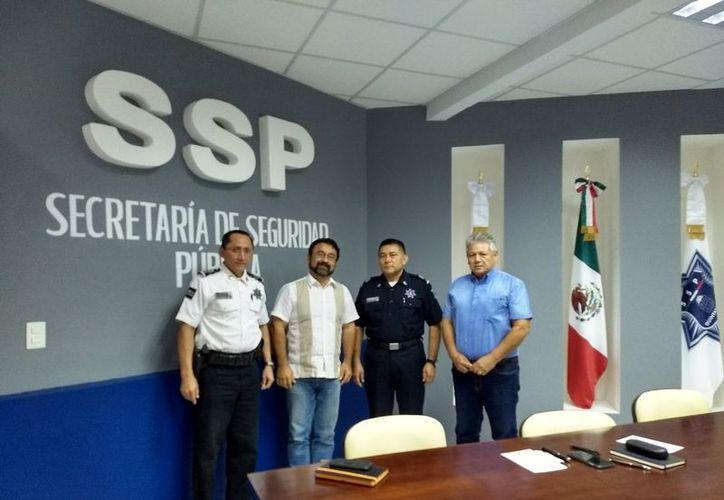 La Canaco-Servytur dará a policías en formación y en activo, capacitación en materia de atención al turista, difusión de servicios y atractivos turísticos. (Joel Zamora/SIPSE)