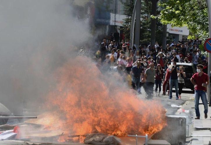 A partir del viernes las protestas demandaron la salida del gobierno de Endorgan. (Agencias)