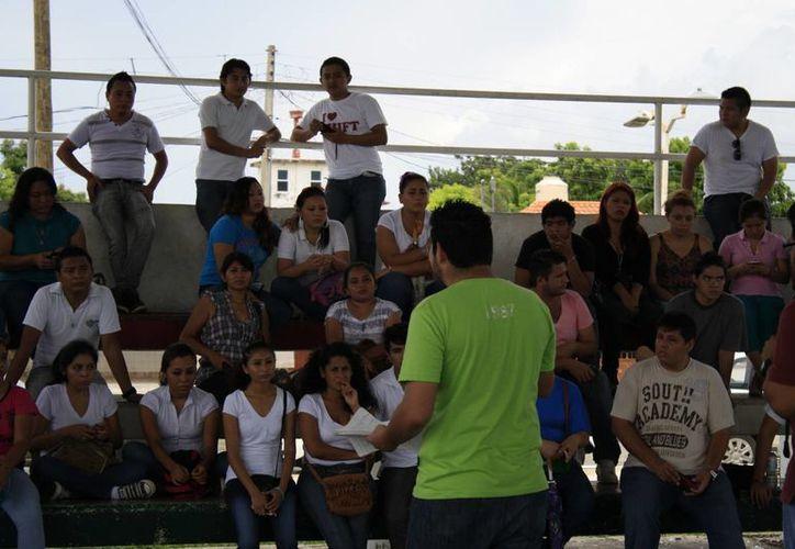 Alrededor de 90 jóvenes se reunieron el día de ayer. (Archivo/SIPSE)