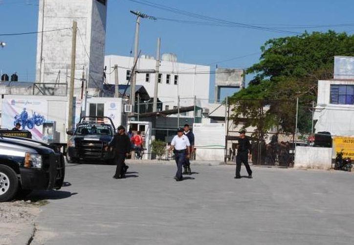 Se registró el martes, un conflicto en la cárcel municipal. (Eric Galindo/SIPSE)