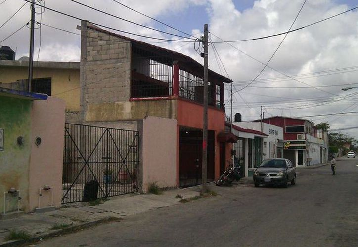La casa de citas se ubica en la Región 93. (Eric Galindo/SIPSE)