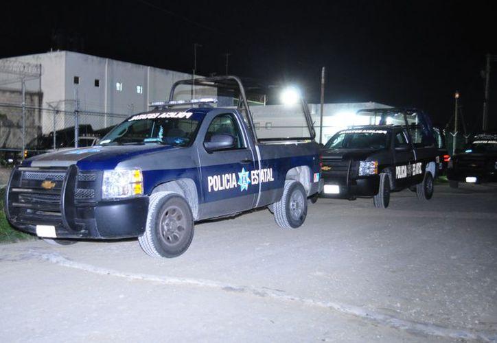 Elementos del GOE, con armas largas, llevarán a cabo patrullajes en el perímetro de la prisión. (Redacción/SIPSE)