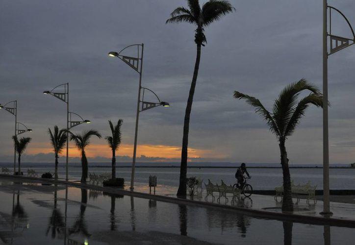 El fenómeno se ubica muy cerca de Cabo San Lucas. (EFE)