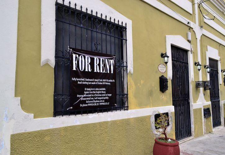 La renta de apartamentos va en ascenso, en Yucatán.  (Foto: Daniel Sandoval/Milenio Novedades)