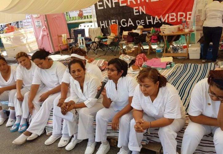 El gobierno de Chiapas informó que se atendieron tres puntos originales de las demandas de las nueve enfermeras. (Gaceta Mexicana).