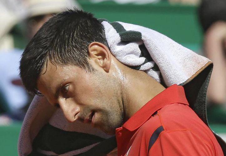 Novak Djokovic sufrió apenas su segunda derrota del año en un torneo del circuito ATP. (AP)