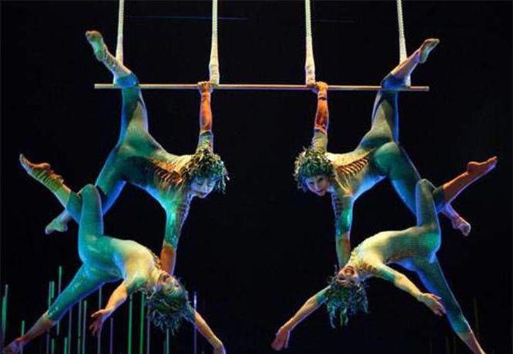 El teatro de Cirque du Soleil, el primero que se establece fuera de Estados Unidos, fue inaugurado. (Foto/Internet)