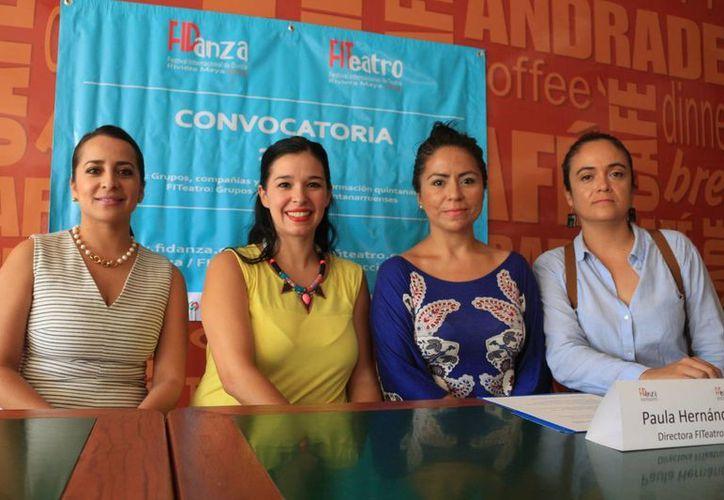 Las presentaciones se realizarán en el teatro de la ciudad, las de teatro serán en octubre, y las de danza en diciembre. (Adrián Barreto/SIPSE)