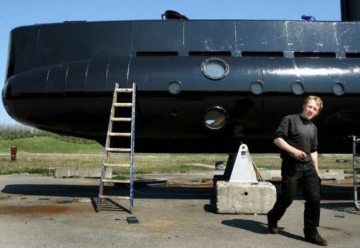 Peter Madsen está acusado de matar a Kim Wall en su casa-submarino en agosto.  (Foto: El Imparcial)