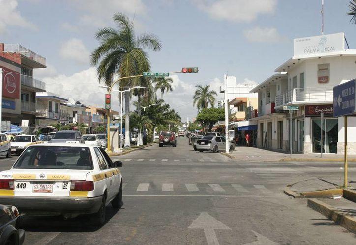 La idea de remodelar la principal avenida de la ciudad surgió hace aproximadamente 10 años. (Harold Alcocer/SIPSE)
