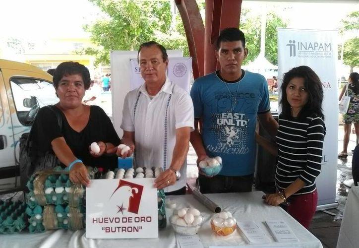 El proyecto impulsa el crecimiento económico de las familias. (Carlos Horta/ SIPSE)