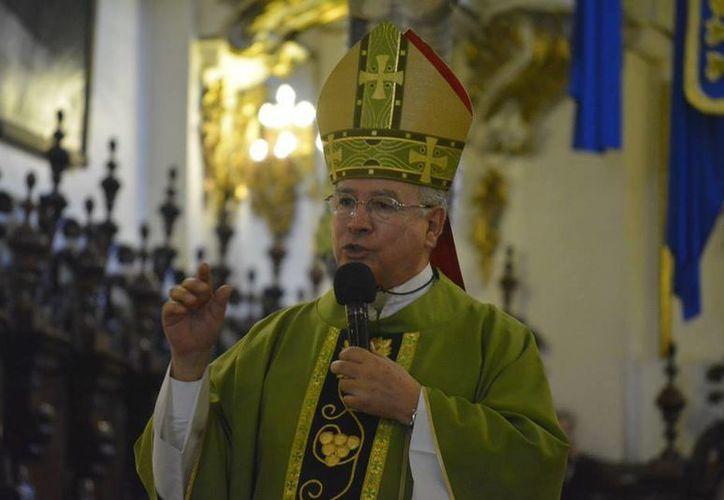 El mensaje para que los días 0 y 24 de septiembre se realicen marchas en contra del matrimonio igualitario fue firmado por el cardenal José Francisco Robles Ortega, presidente de la CEM. (facebook.com/cardenalrobles)