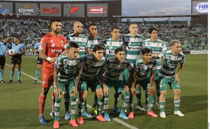 El Santos tiene 8 casos asintomáticos, según la Liga. (Foto: Reforma)
