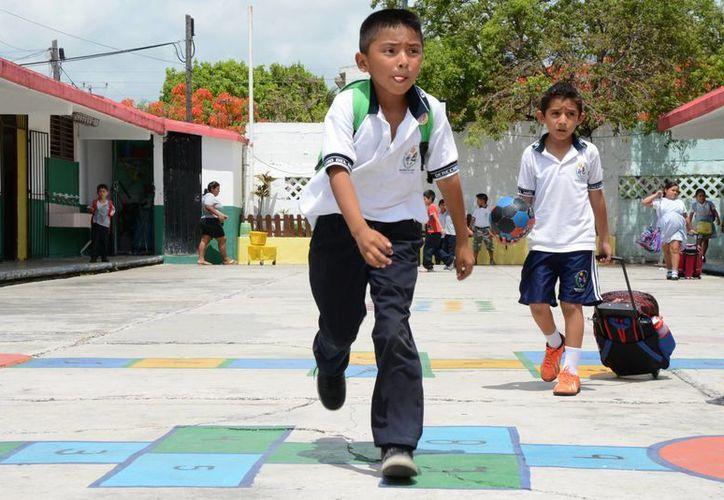 Los cambios se aplicarán a partir de la segunda semana de clases del ciclo escolar 2015-2016. (Victoria González/SIPSE)