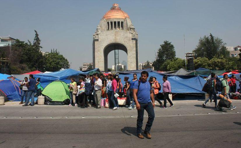 Madres de familia oaxaqueñas aseguran que sus hijos no tienen clases debido a las constantes movilizaciones de la Sección 22 de la CNTE tanto en Oaxaca como en la Ciudad de México. (Archivo/Notimex)