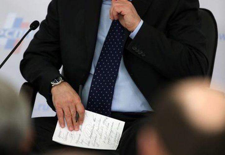 Vladímir Putin, firmó hoy la ley sobre la adhesión de Crimea y Sebastopol a Rusia. (Agencias)