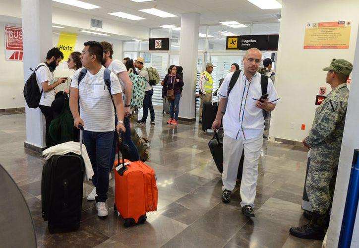 La llegada de los visitantes beneficiará la economía de la capital del Estado. (Foto: David de la Fuente)