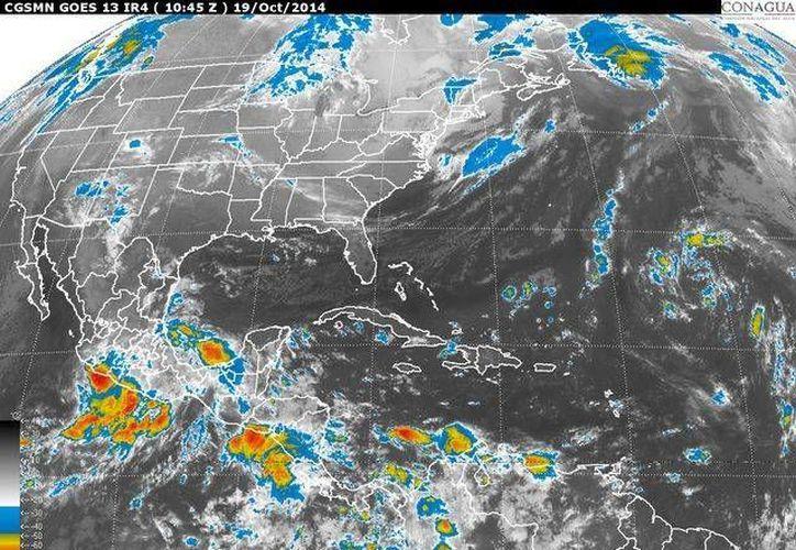 La humedad será del 77 por ciento y la probabilidad de precipitaciones es del 60 por ciento para Cancún. (Redacción/SIPSE)