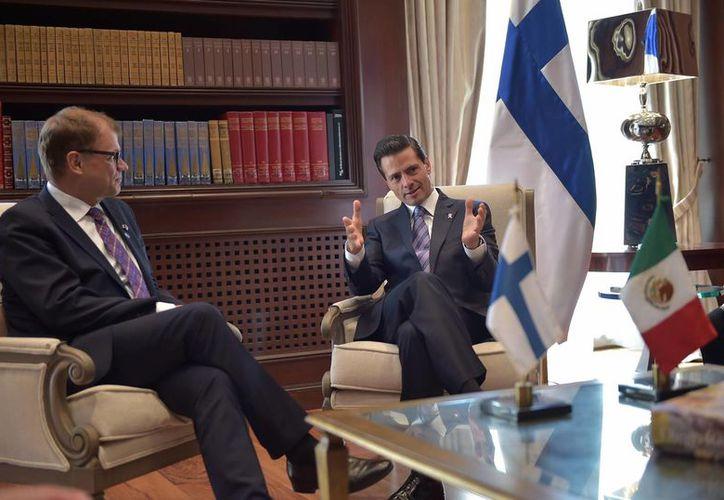 La visita del premier finlandés a México ocurre justo cuando se cumplen 80 años de la amistad entre ambos países. (Presidencia)