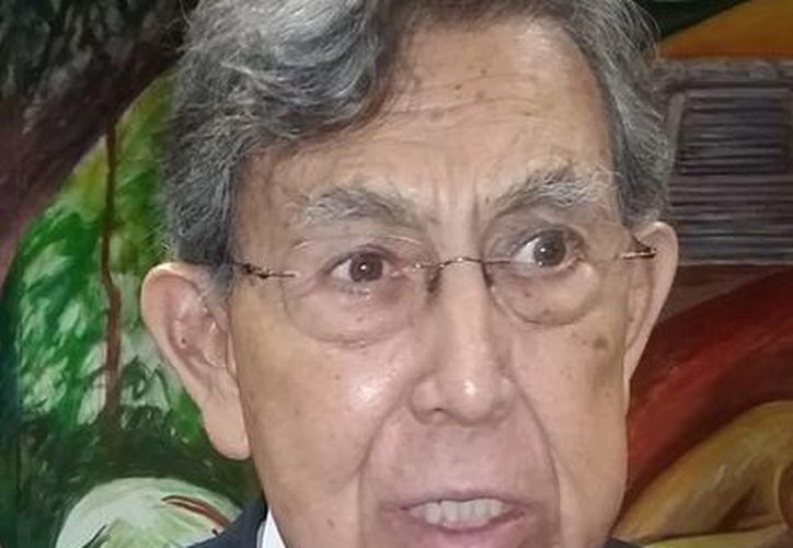 Cuauhtémoc Cárdenas acudió a El Vaticano a participar en un encuentro de alcaldes convocado por el Papa Francisco, ya que Miguel Ángel Mancera no pudo asistir. (Archivo/Notimex)