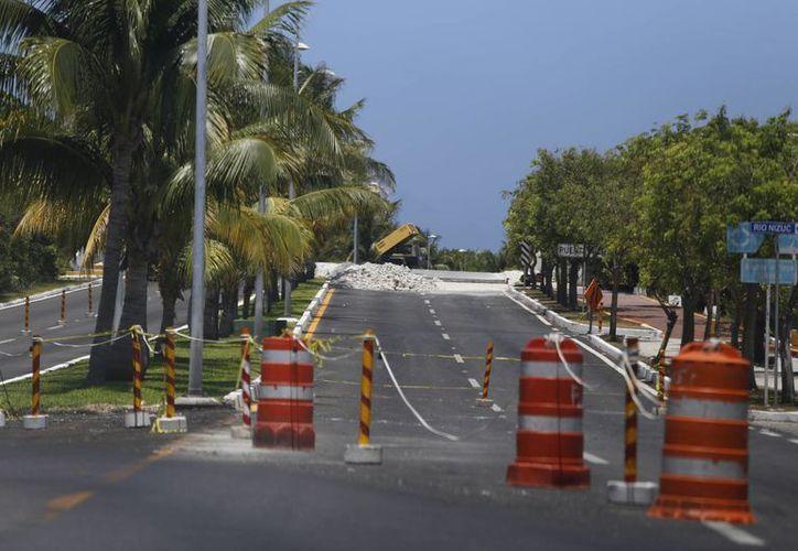 Invierten 23 millones de pesos en la rehabilitación y mantenimiento de dos puentes. (Israel Leal/SIPSE)