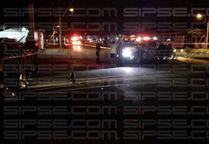 Falleció un sujeto por arma de fuego en la Región 227. (Orville Peralta)