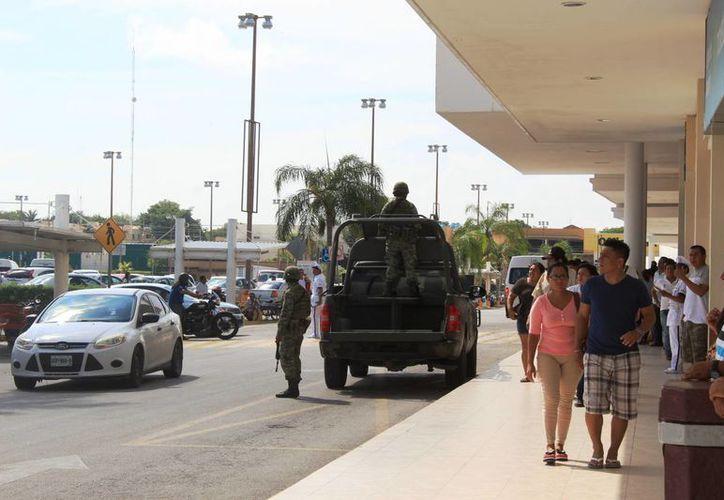 El robo en las plazas comerciales es de los que más ocupa a los integrantes del sector empresarial. (Octavio Martínez/ SIPSE)