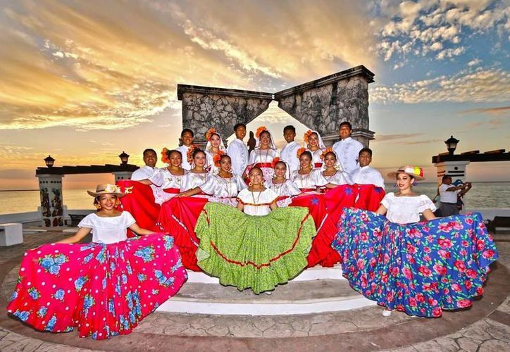 """El Primer Festival Internacional de Danza Folclórica """"Sin Fronteras"""" será hoy en Cozumel. (Cortesía)"""
