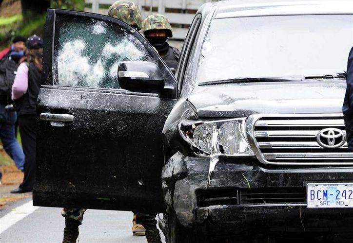 La PGR ordenó la captura de cuatro mandos de la Policía Federal por su presunta responsabilidad en el ataque. (Archivo/Agencias)