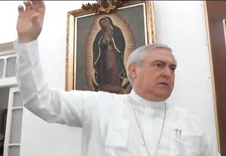 Mons. Emilio Carlos Berlie Belaunzarán tuvo un trato cercano con el nuevo Obispo de Roma. (Milenio Novedades)
