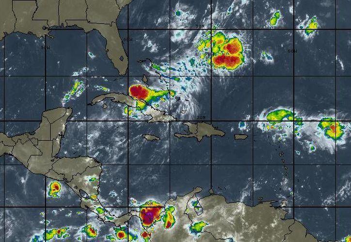 Los vientos oscilarán en los 16  kilómetros por hora en Cancún.(Intellicast)
