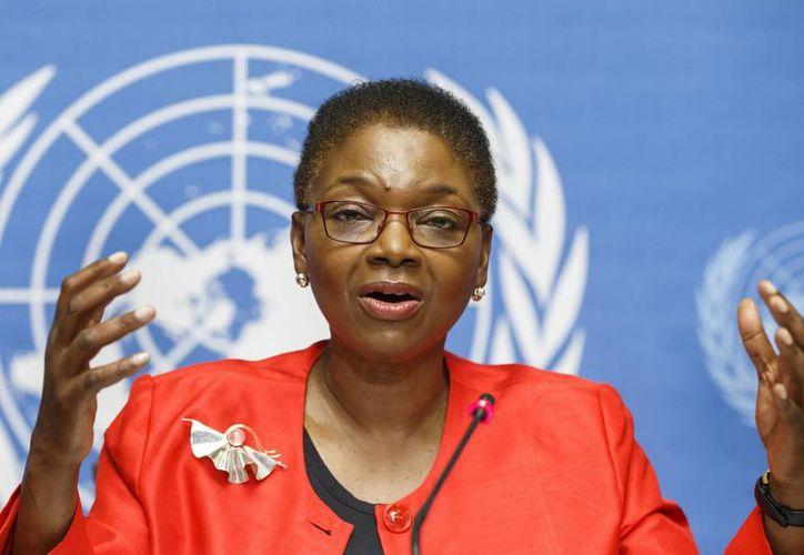 Valerie Amos, de Asuntos Humanitarios de la ONU, dijo que aumentó en casi tres millones la cifra de sirios que requieren urgente ayuda humanitaria. (EFE)