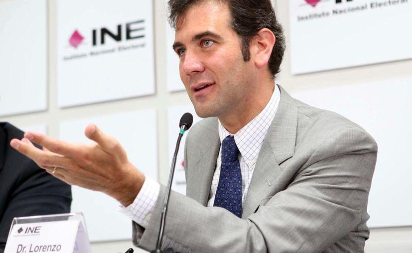 Lorenzo Córdoba dijo que las llamadas encuestas de salida no son realizadas por el INE. (Foto: Contexto/Internet)