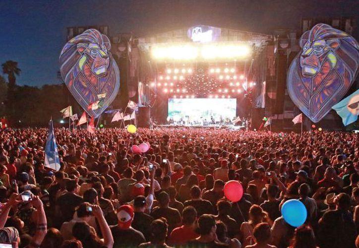 El festival en Monterrey, agotó la venta de más de 210 mil boletos. (Foto: Contexto/ EventosMéxico)