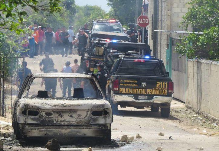 Por hechos violentos, en el municipio de Mama se suspendió el cómputo de votos y ahora se realizará en el Consejo Estatal del Iepac en Mérida. (SIPSE)
