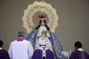 El Papa celebra misa con sacerdotes y religiosas en Morelia