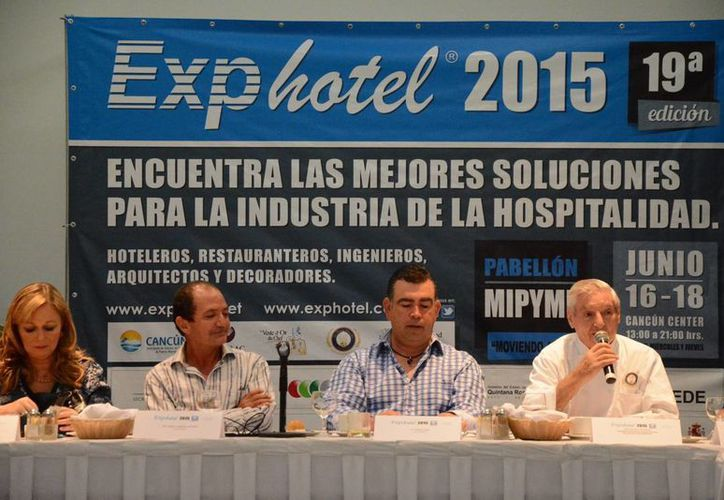 Mencionaron que el evento se celebrará del 16 al 18 de junio, en el Cancún Center. (Victoria González/SIPSE)