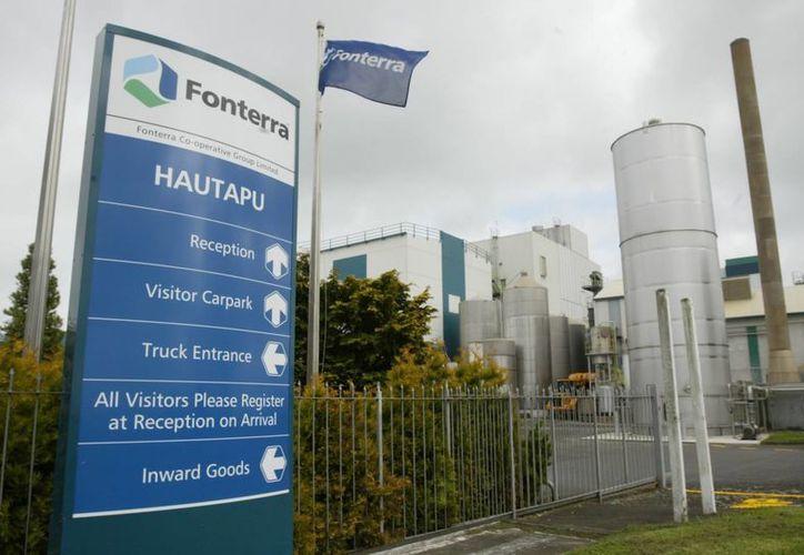 Planta de productos lácteos Fonterra, en Hautapu, Nueva Zelanda. que es la cuarta empresa de lácteos más grande del mundo. (Agencias)