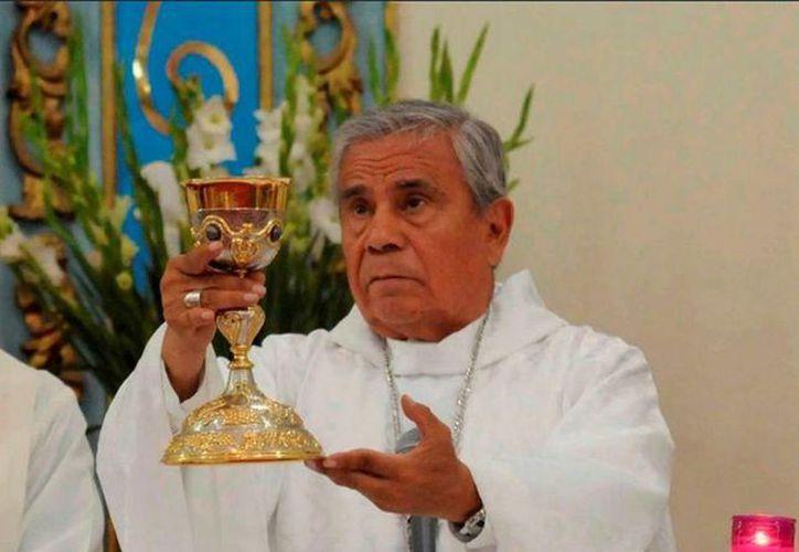 El obispo de Chilpancingo, Alejo Zavala, dijo que hasta el momento no ha habido una investigación formal respecto a las llamadas de extorsión. (twitter/@NoticiasMVS)