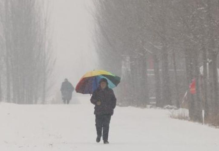 Al menos 13 personas han muerto a causa de las fuertes nevadas en China. (Reuters)