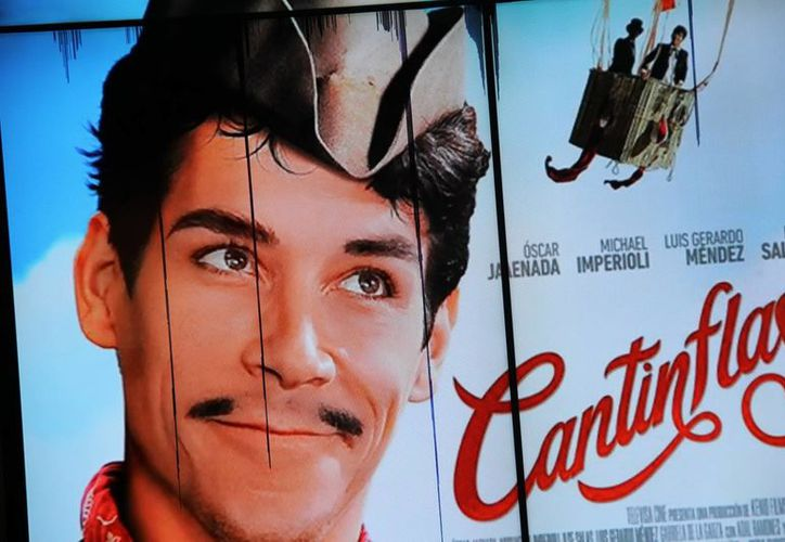 Promocional de la película mexicana 'Cantinflas', que versa sobre el cómico y que quedó fuera de la contienda por los premios Oscar. (Notimex)