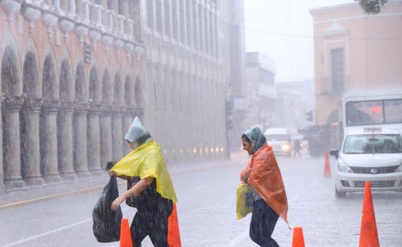 Este jueves habrá tormentas fuertes en el noroeste, centro y sur de Yucatán. (Jorge Acosta)
