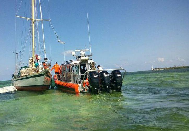 """La Secretaría de Marina emitió recomendaciones a la comunidad náutica por la posibilidad de que se presente el """"mar de fondo"""" en Quintana Roo. (Daniel Tejada/SIPSE)"""