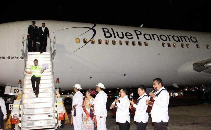 Quieren mayor conectividad entre Italia y Yucatán. (Milenio Novedades)